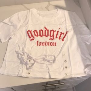 Good girl fashion graphic tee